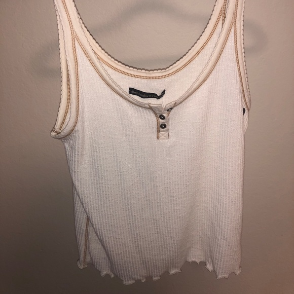 Abercrombie & Fitch Tops - Abercrombie white tank
